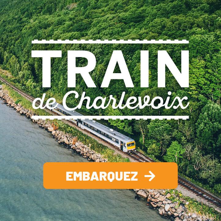 Trains de Charlevoix