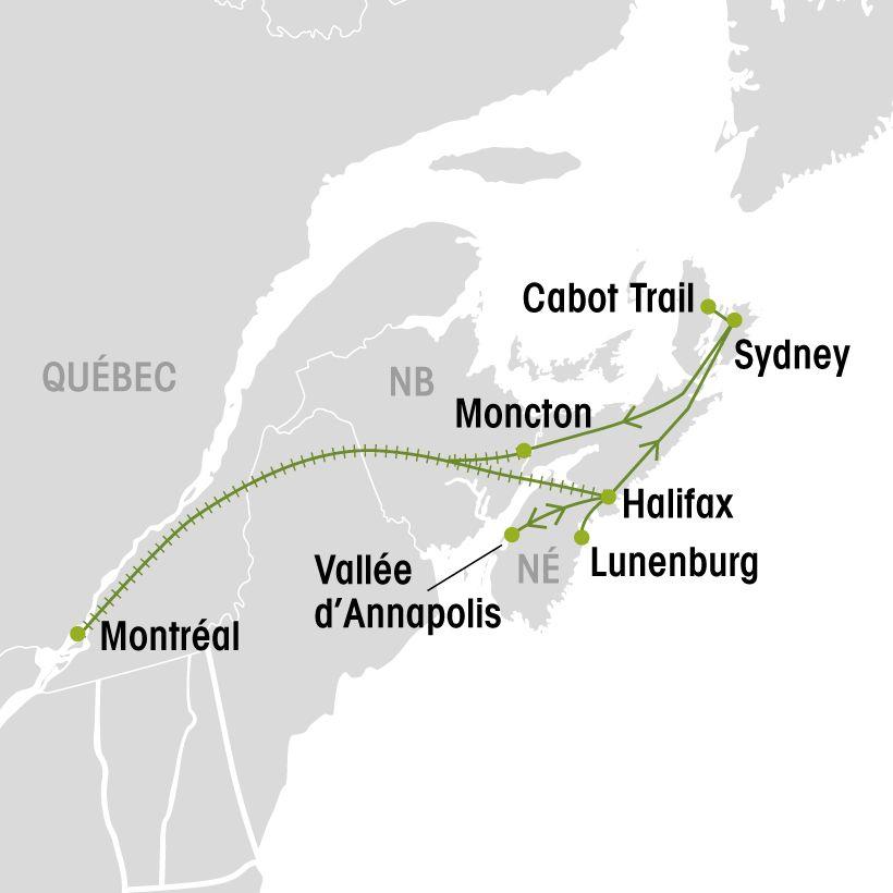 Carte Assurance Maladie Nouvelle Ecosse.Autotour En Nouvelle Ecosse Groupe Voyages Quebec Leader