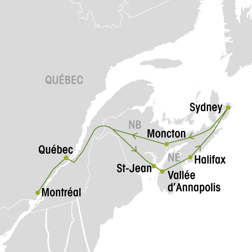 Carte Assurance Maladie Nouvelle Ecosse.La Nouvelle Ecosse Groupe Voyages Quebec Leader De L