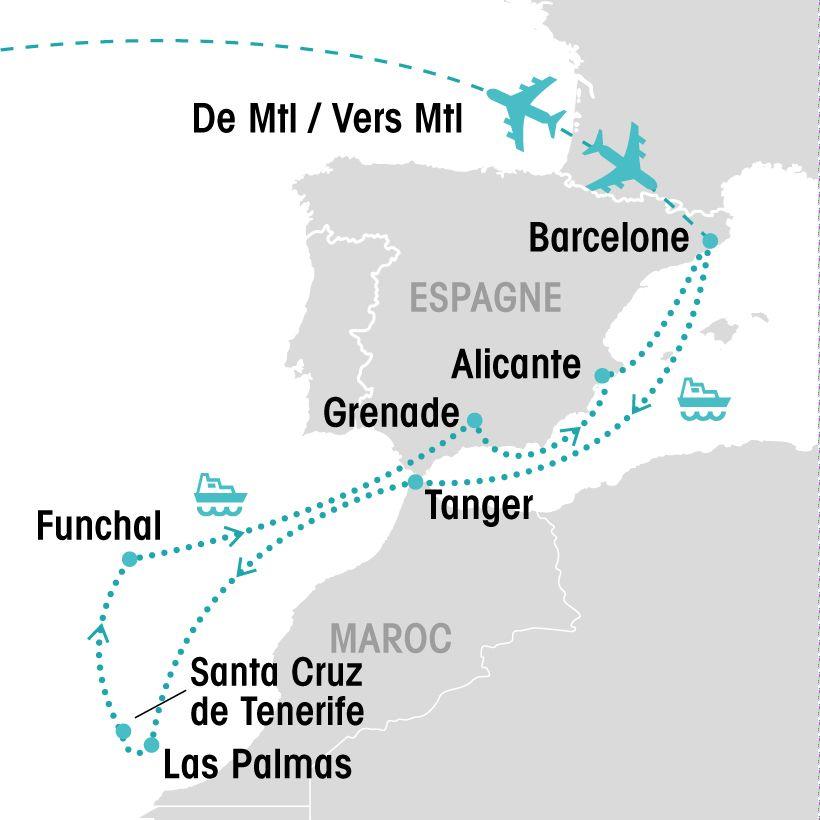 Croisi 232 Re Aux 238 Les Canaries Groupe Voyages Qu 233 Bec Leader De L Industrie Du Voyage Et Des