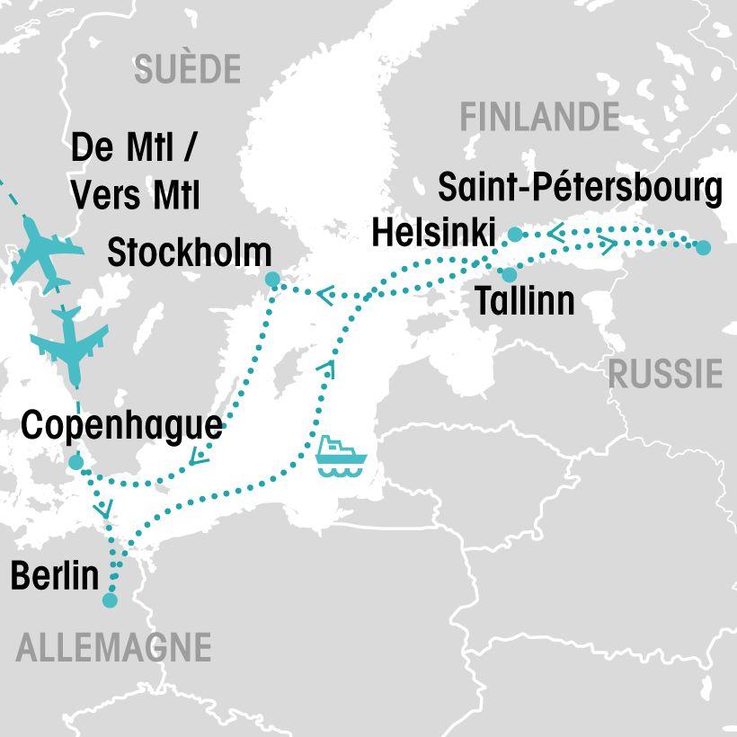 croisi u00e8re sur la mer baltique