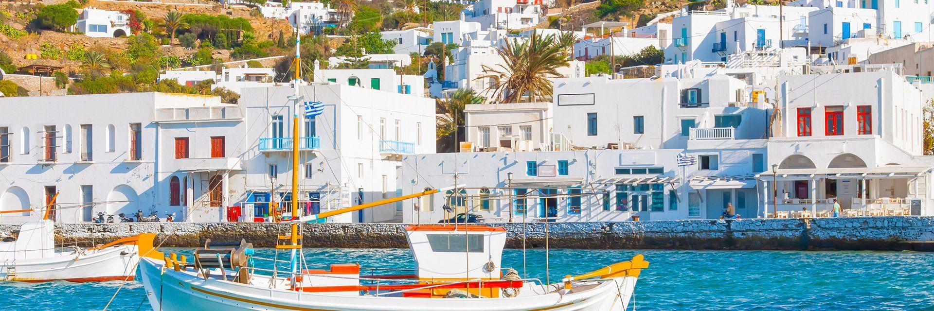 Les îles grecques en liberté