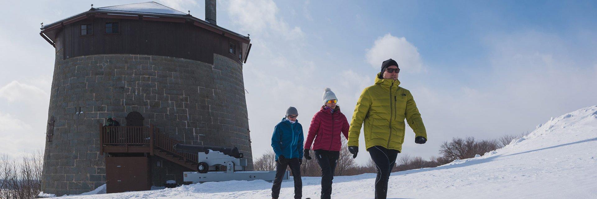 Aventure hivernale à Québec