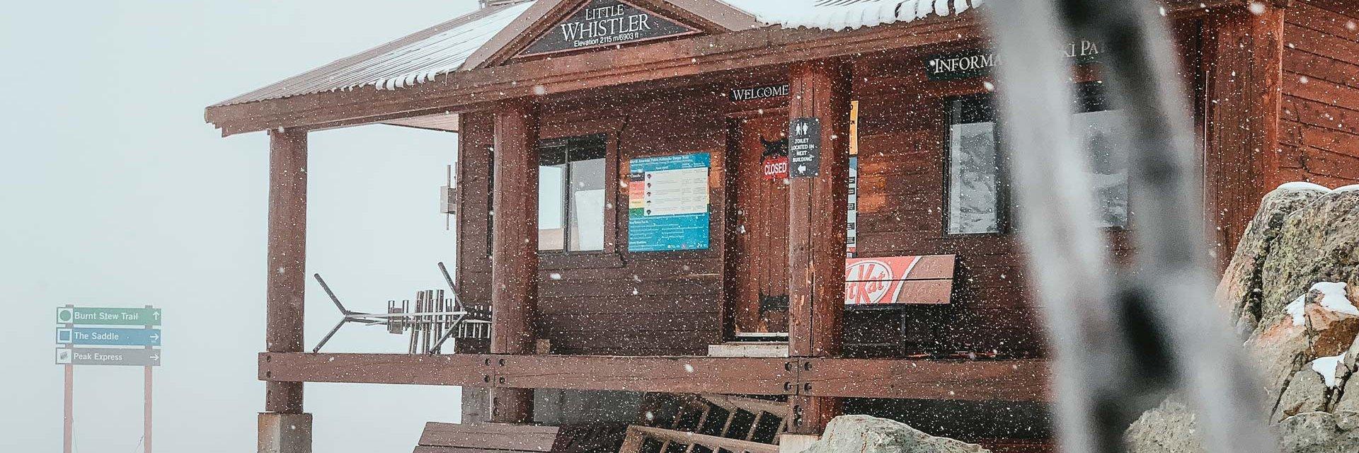 Explorez Whistler en hiver