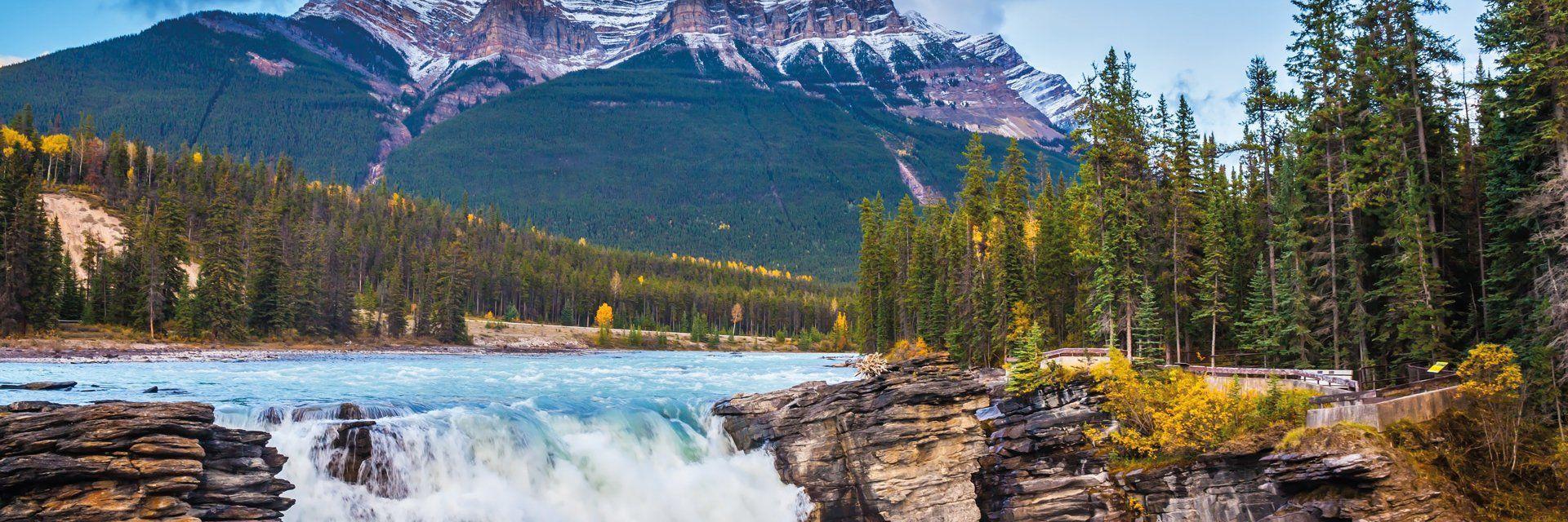 Escapade dans l'Ouest canadien en train panoramique