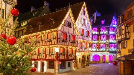 Les marchés de Noël en Alsace et la Fête des Lumières à Lyon