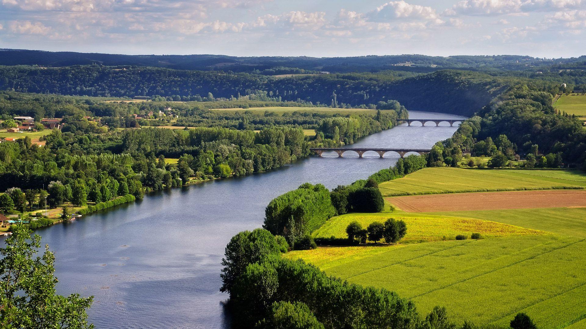 Croisière dans la région de Bordeaux