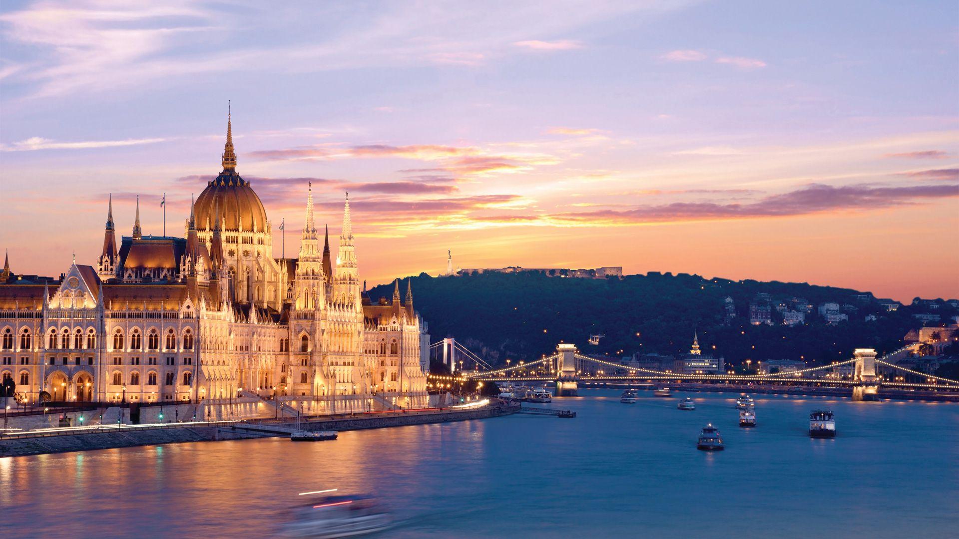 Budapest, Vienne et Prague en liberté