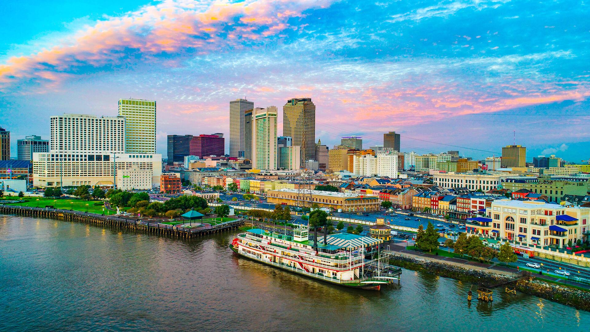 Les charmes de La Nouvelle-Orléans
