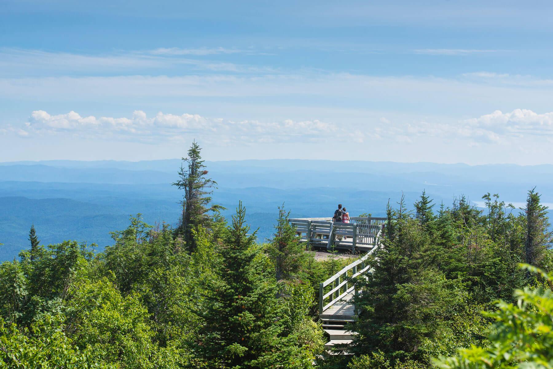 Randonnée au parc national des Monts-Valin - 4 jours