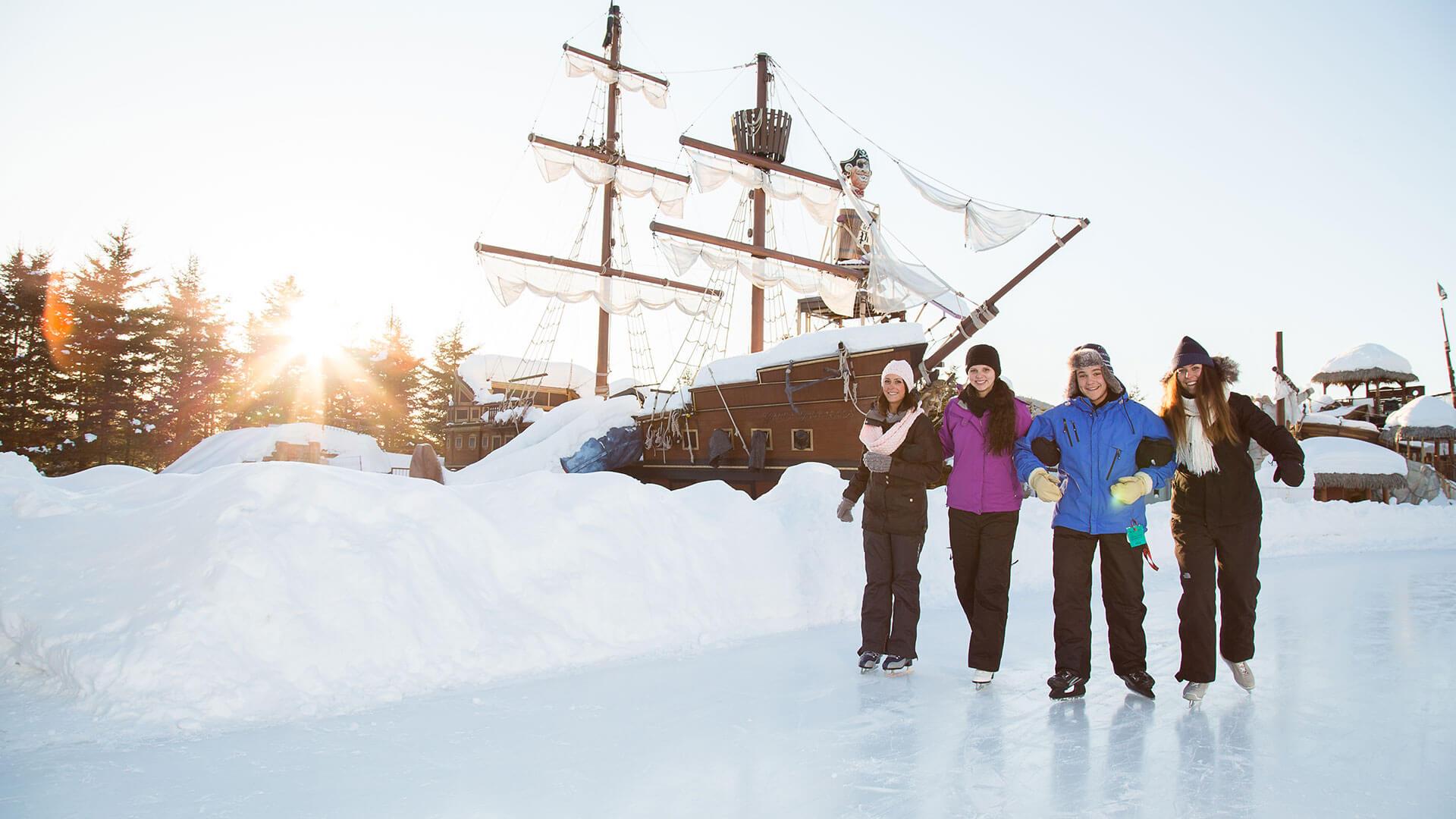 Virée à Québec hivernale au Village Vacances Valcartier