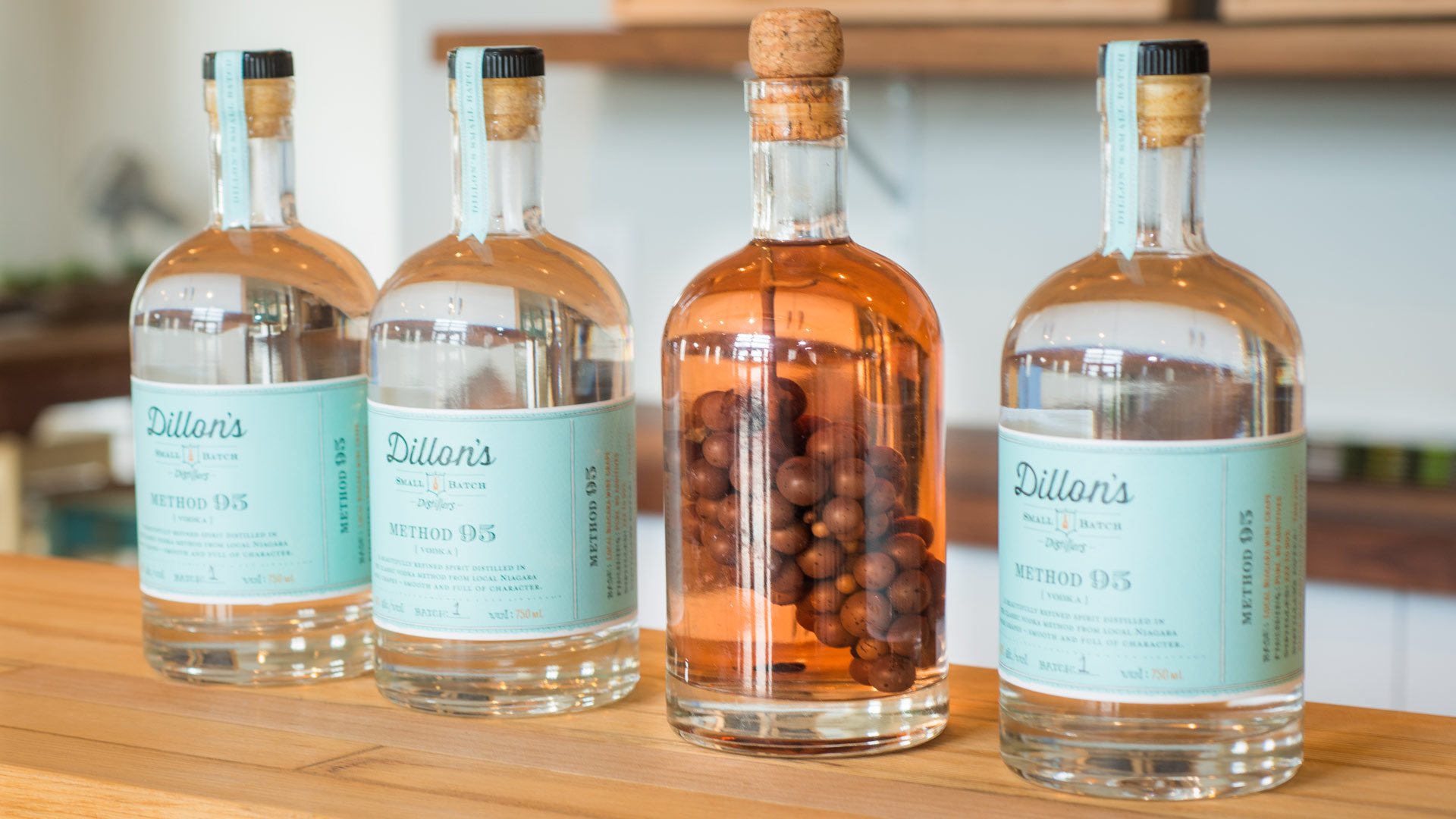 Vignobles et distilleries de l'Ontario