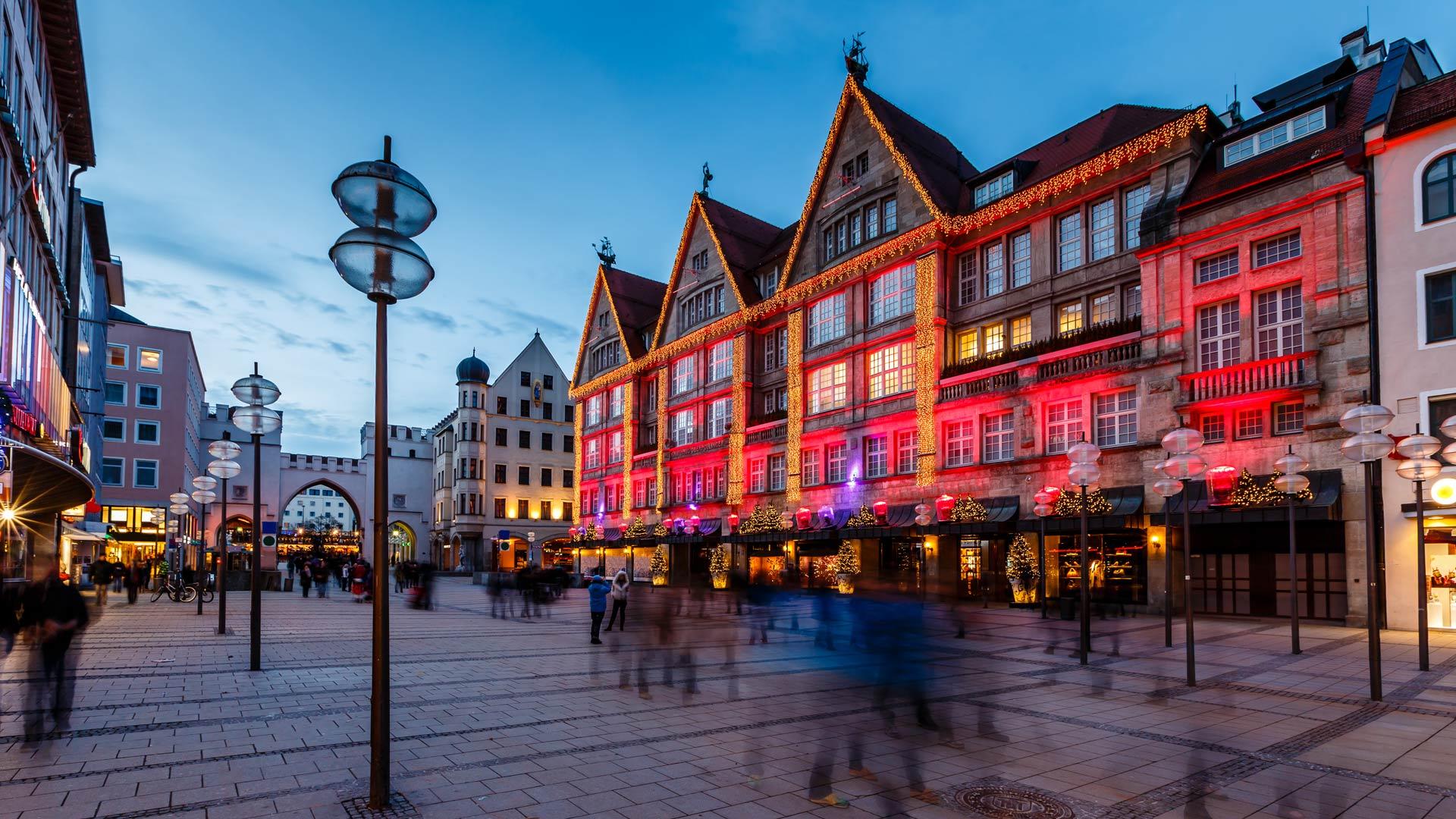Féerie de Noël à Vienne, Salzbourg et Munich en train