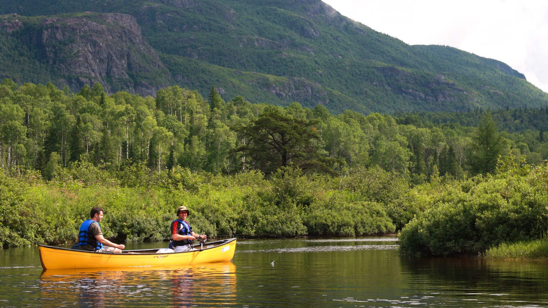 Randonnées au parc national des Monts-Valin