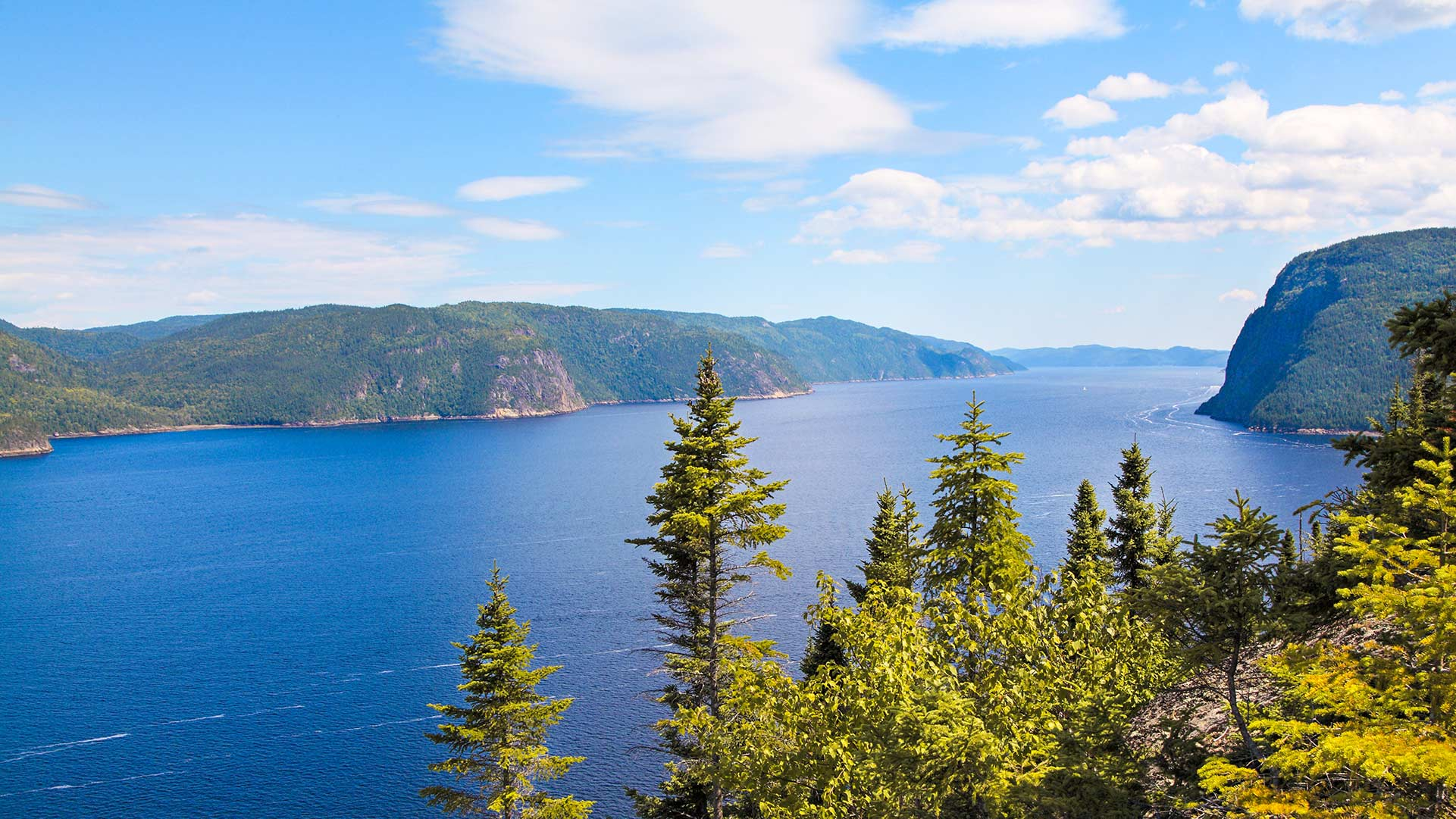 Randonnées au parc national du Fjord-du-Saguenay