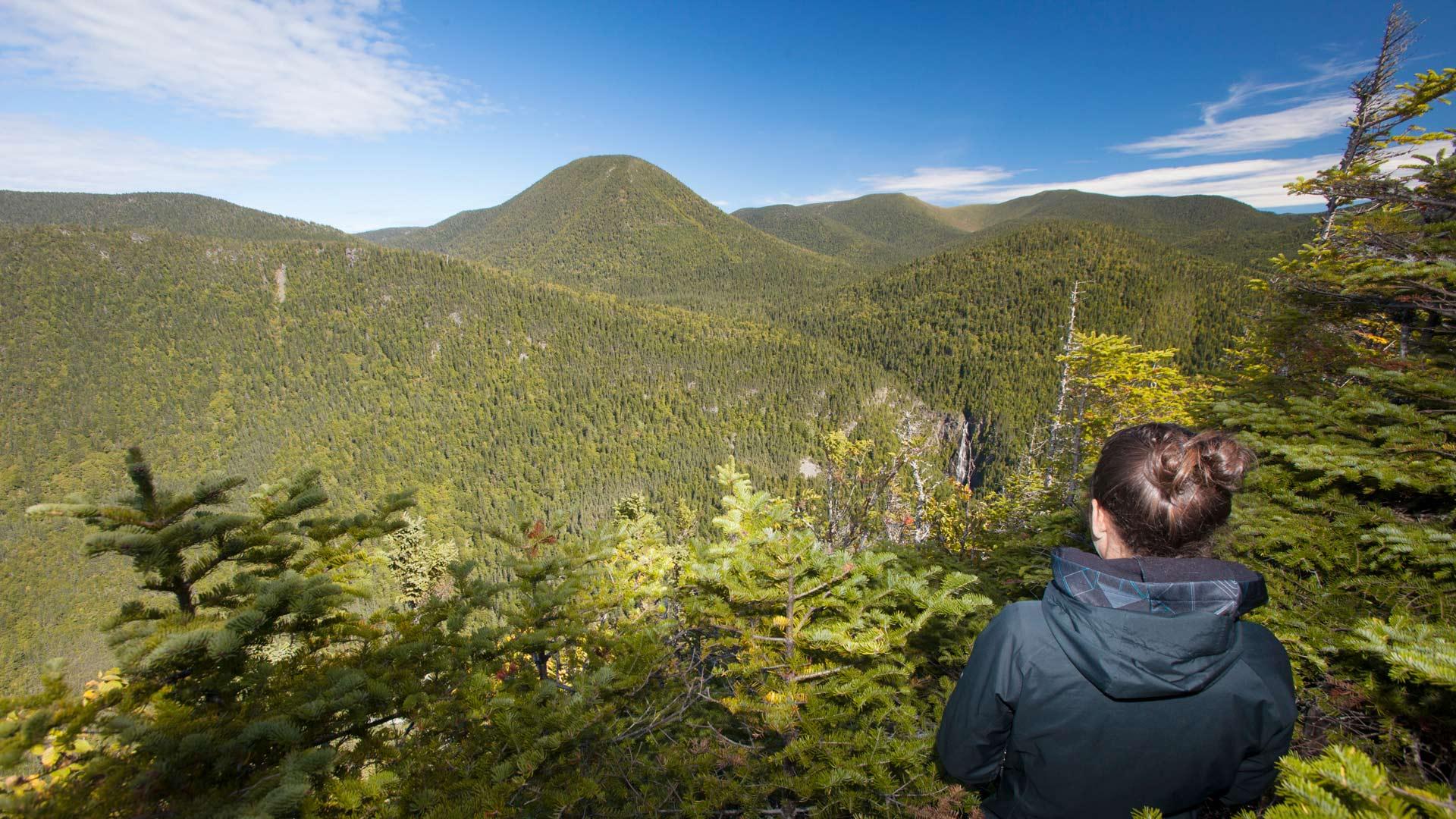 Randonnées au parc national de la Gaspésie