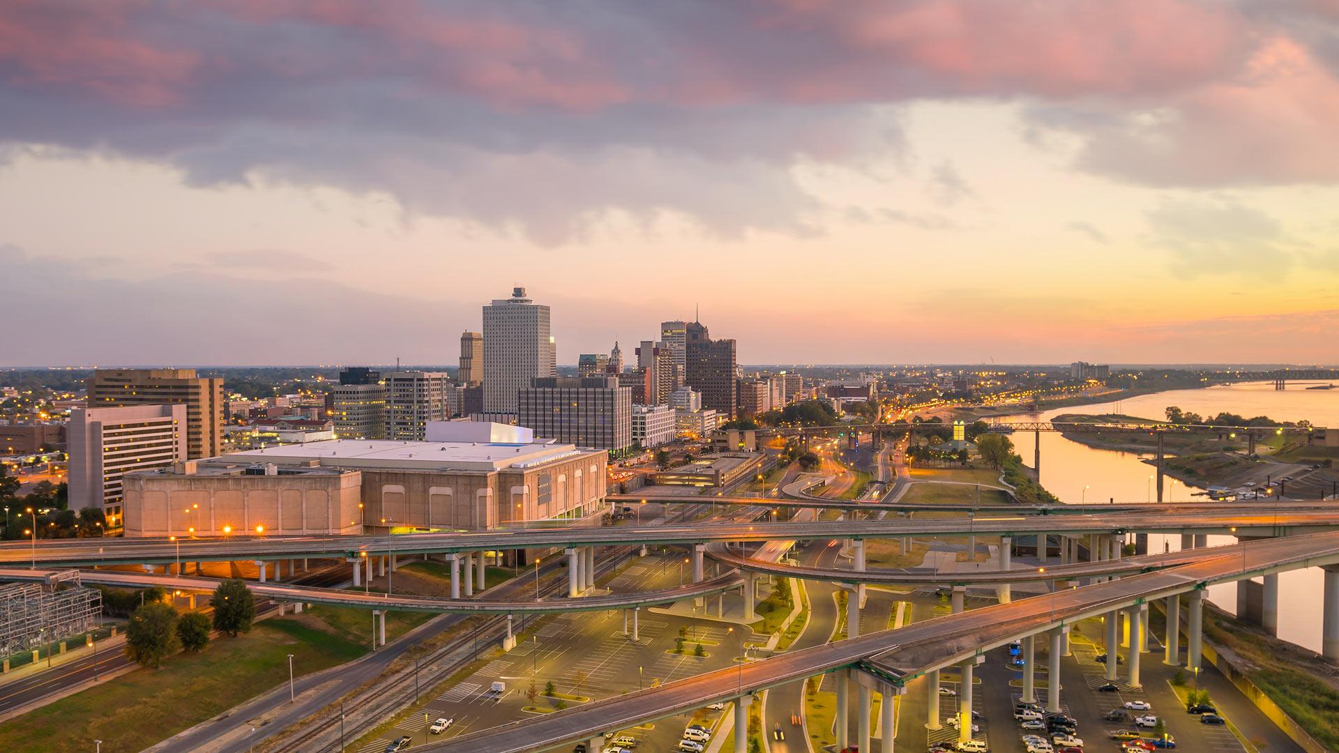 Nashville et Memphis