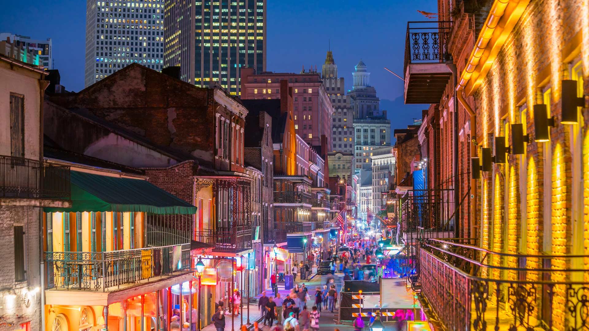 Louisiane, Texas et Tennessee
