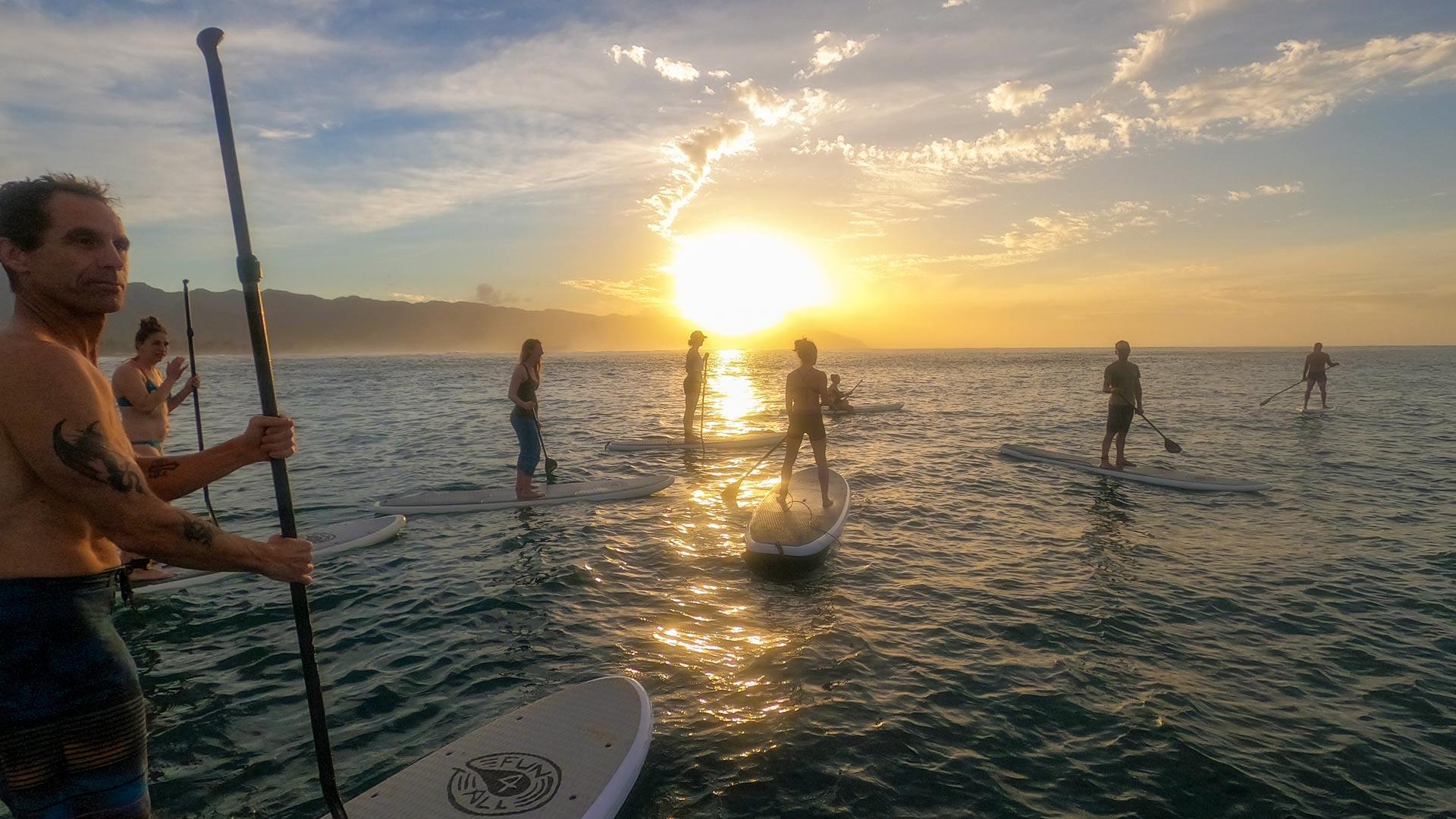 SUP & Surf à Hawaii