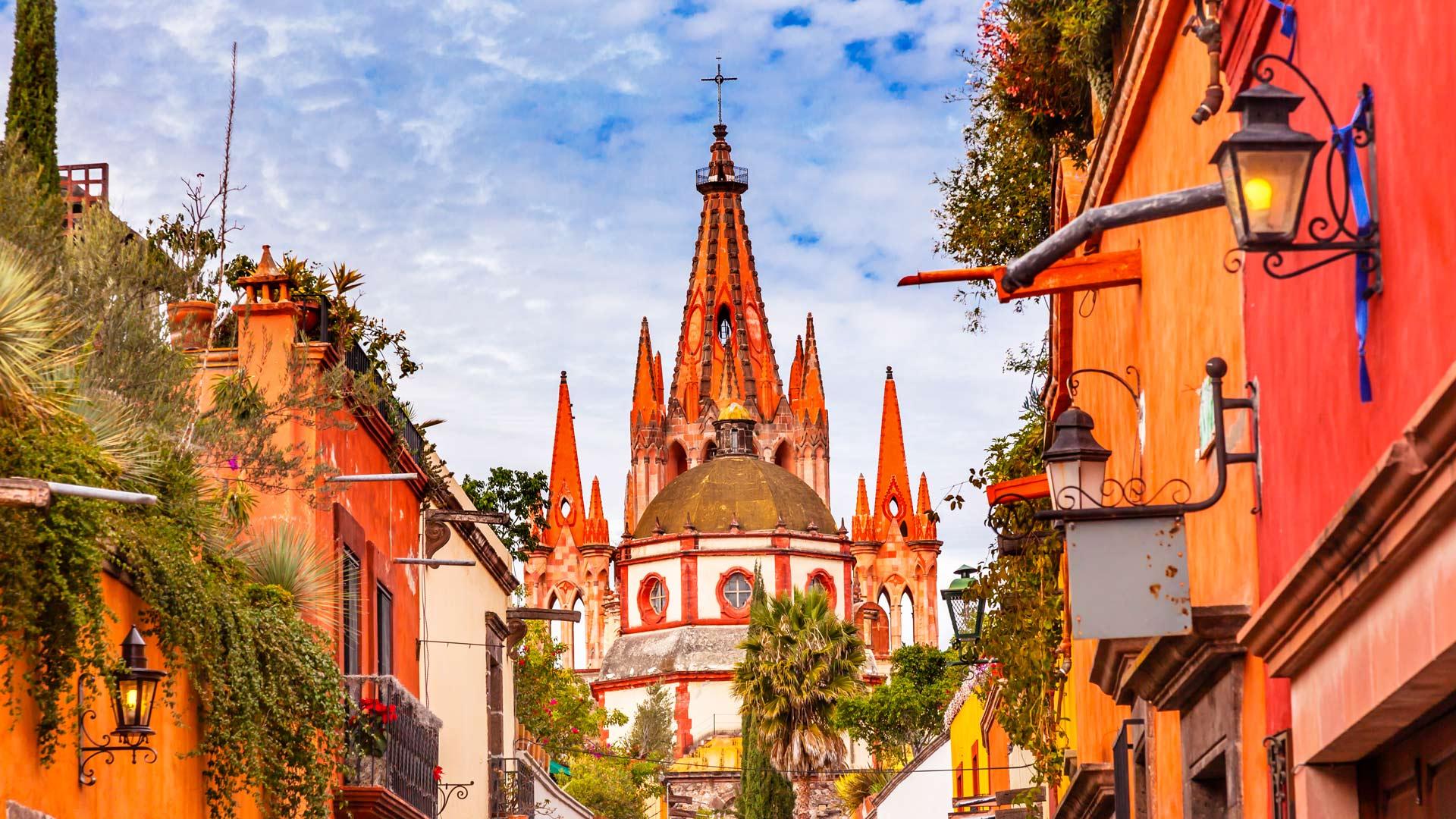 Le coeur colonial du Mexique