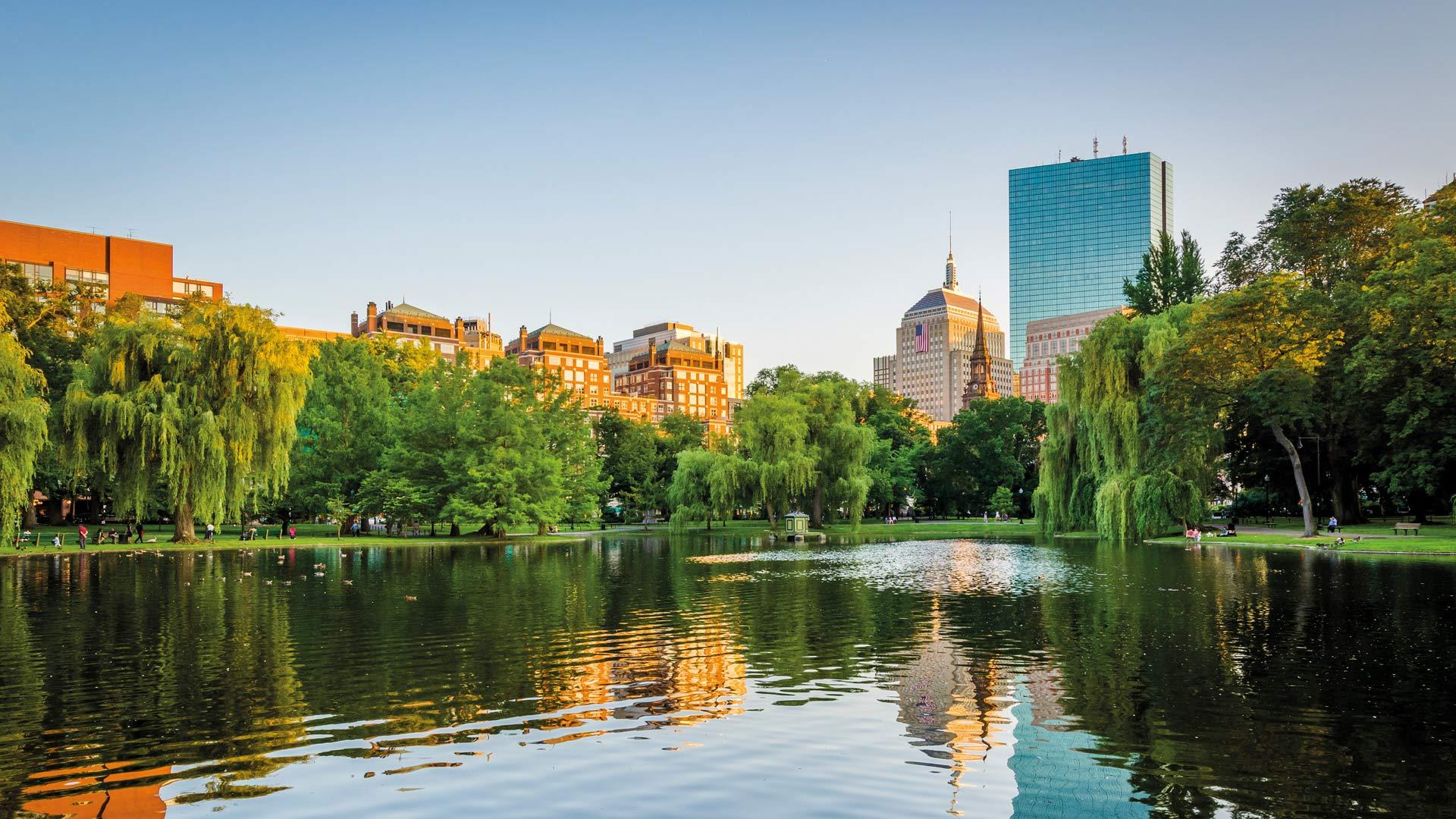 Boston et les châteaux de la Nouvelle-Angleterre
