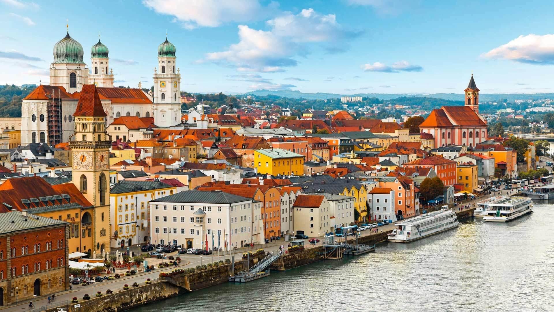 Croisière du Rhin au Danube