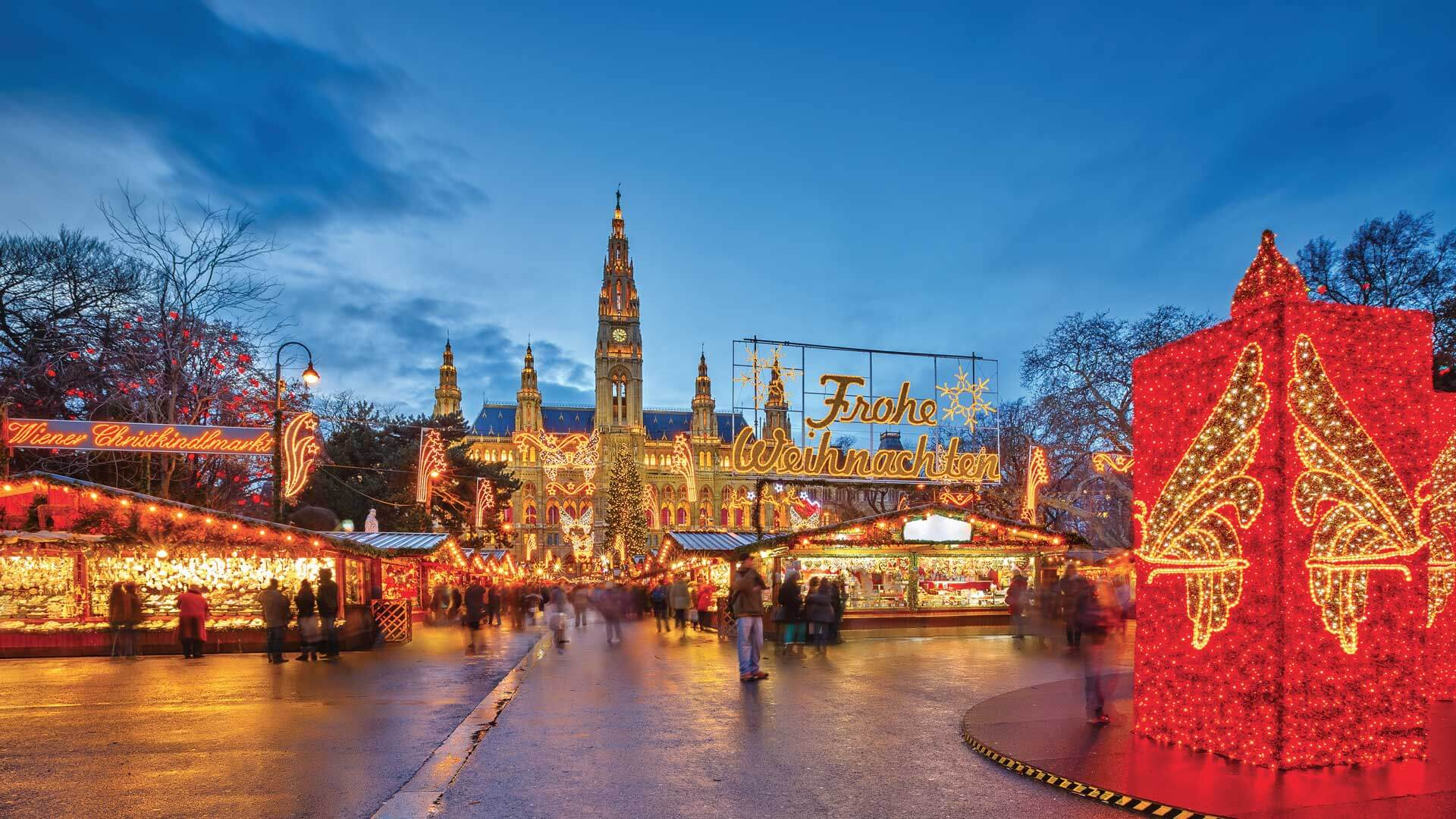 Croisière marchés de Noël dans les grandes capitales danubiennes