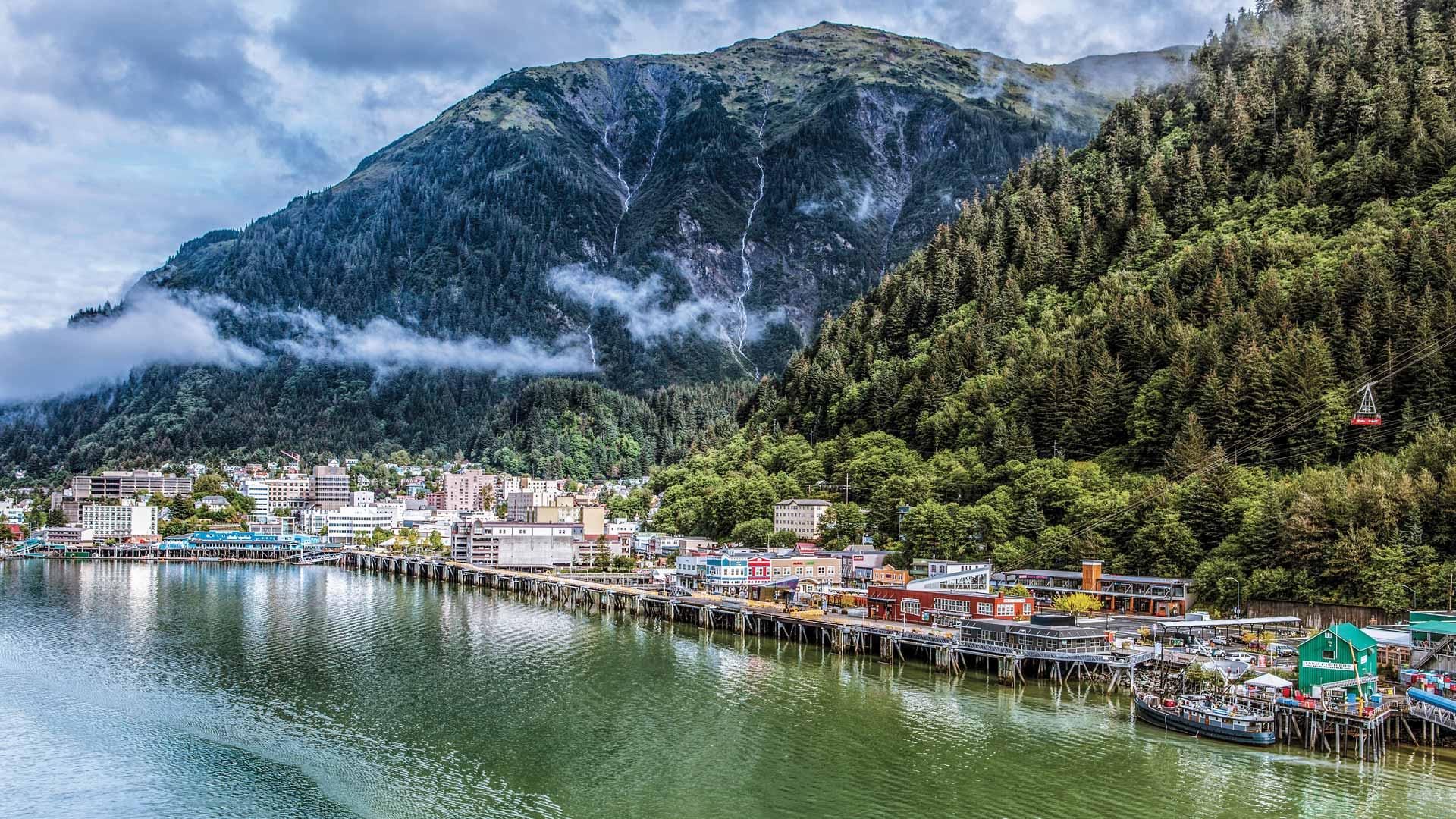 Croisière en Alaska et circuit dans l