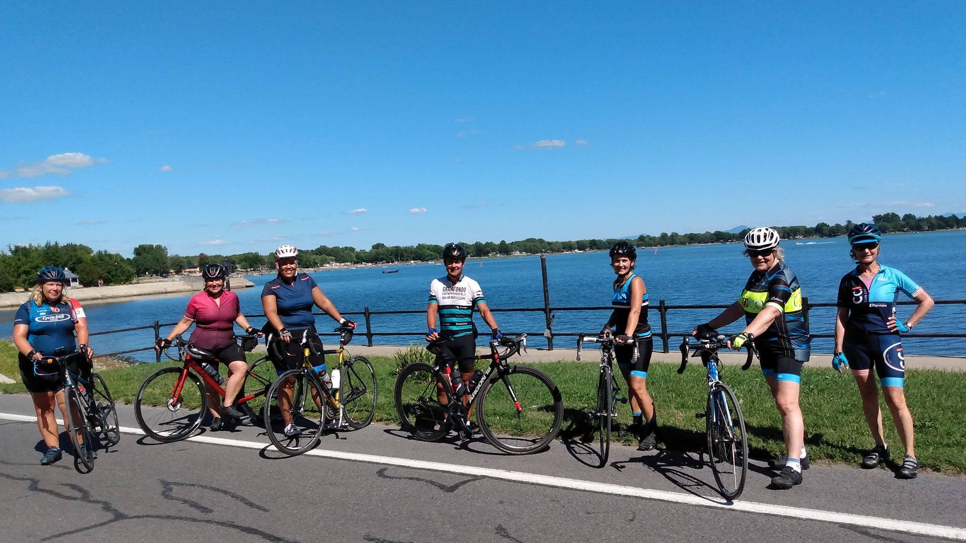 Cyclotourisme à Venise-en-Québec