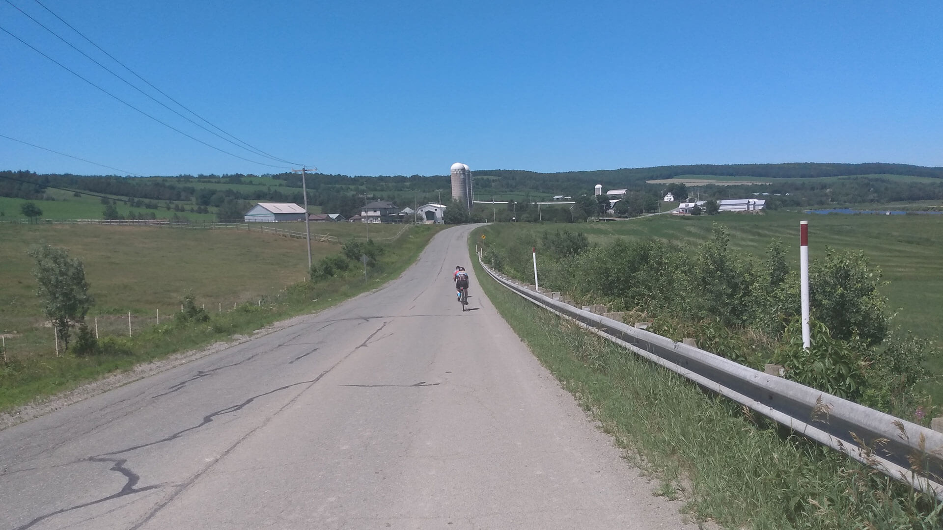 Cyclotourisme au Centre-du-Québec