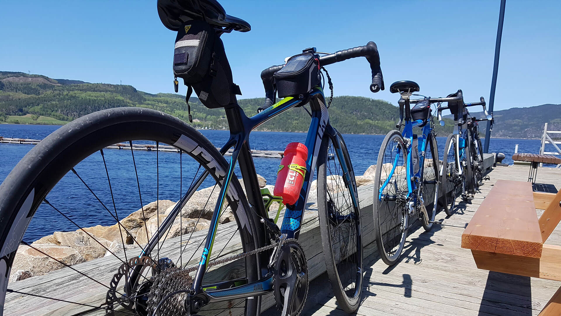 Cyclotourisme à Québec