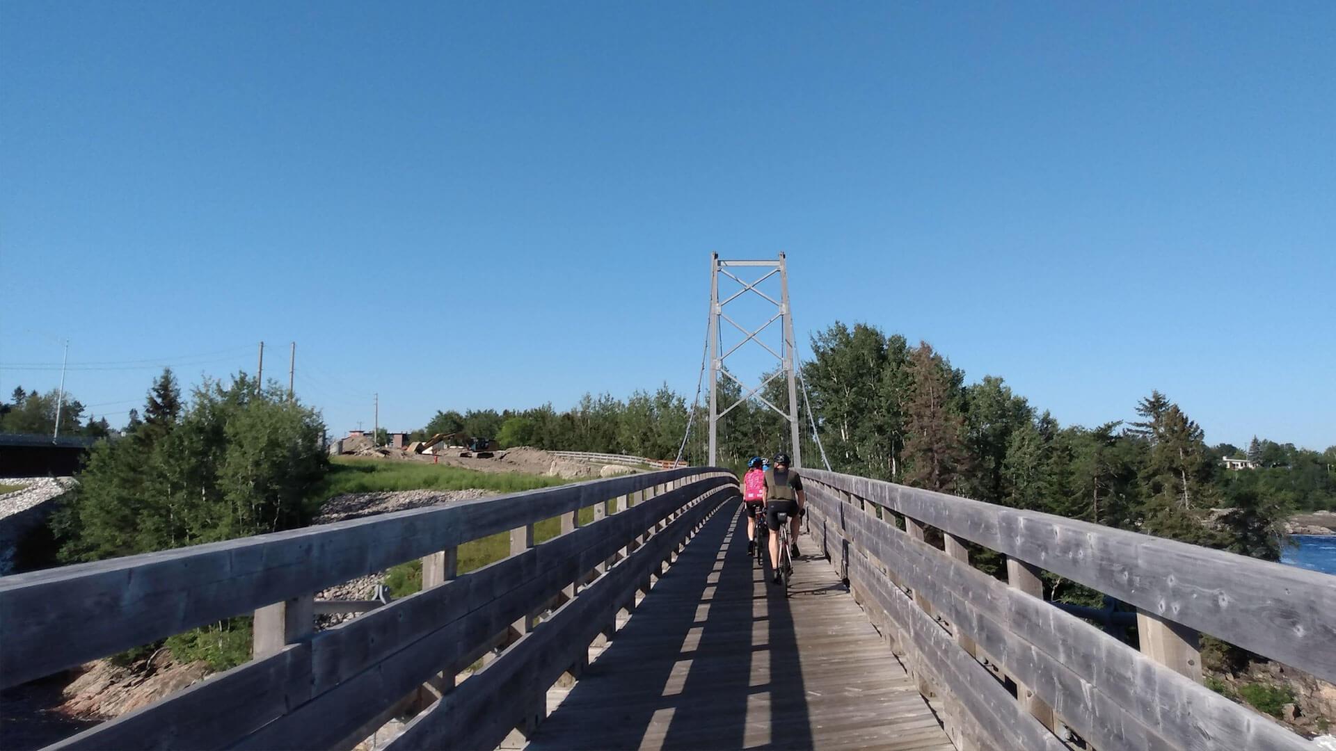 Cyclotourisme au Saguenay-Lac-St-Jean
