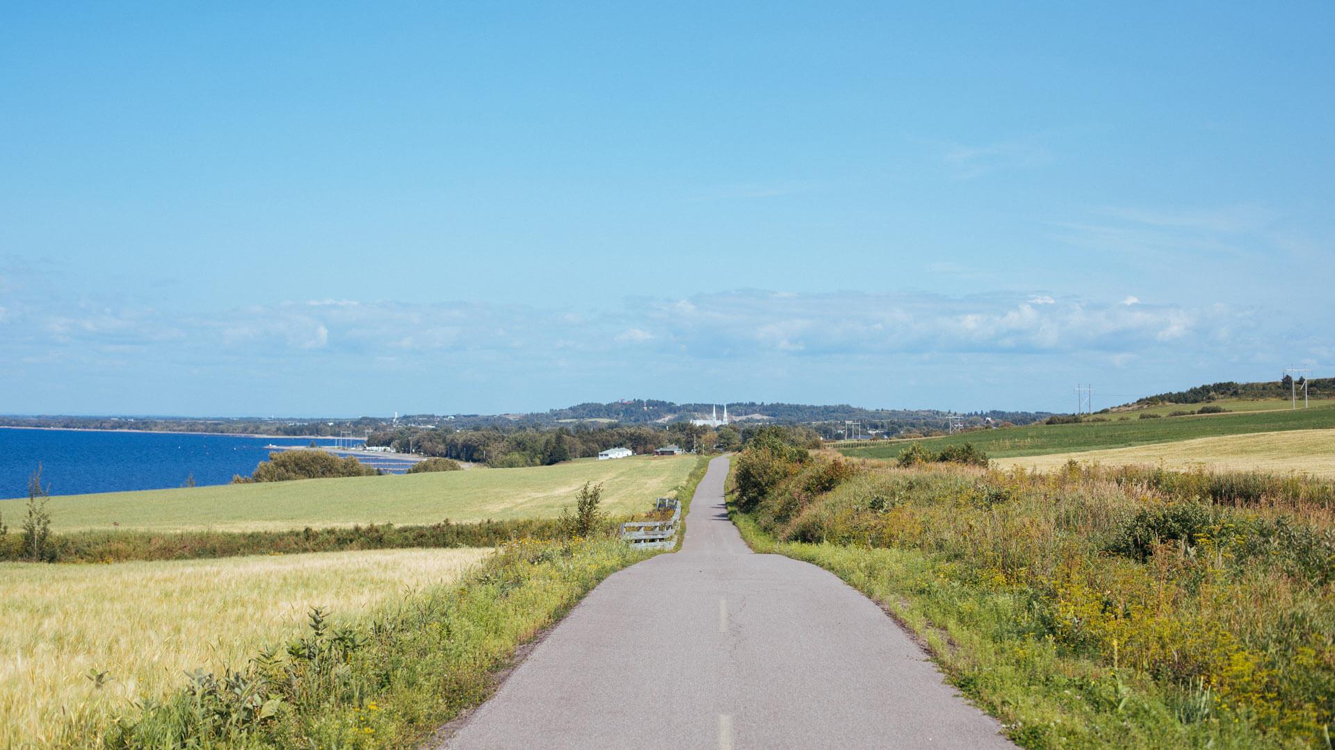 Au pays des bleuets à vélo