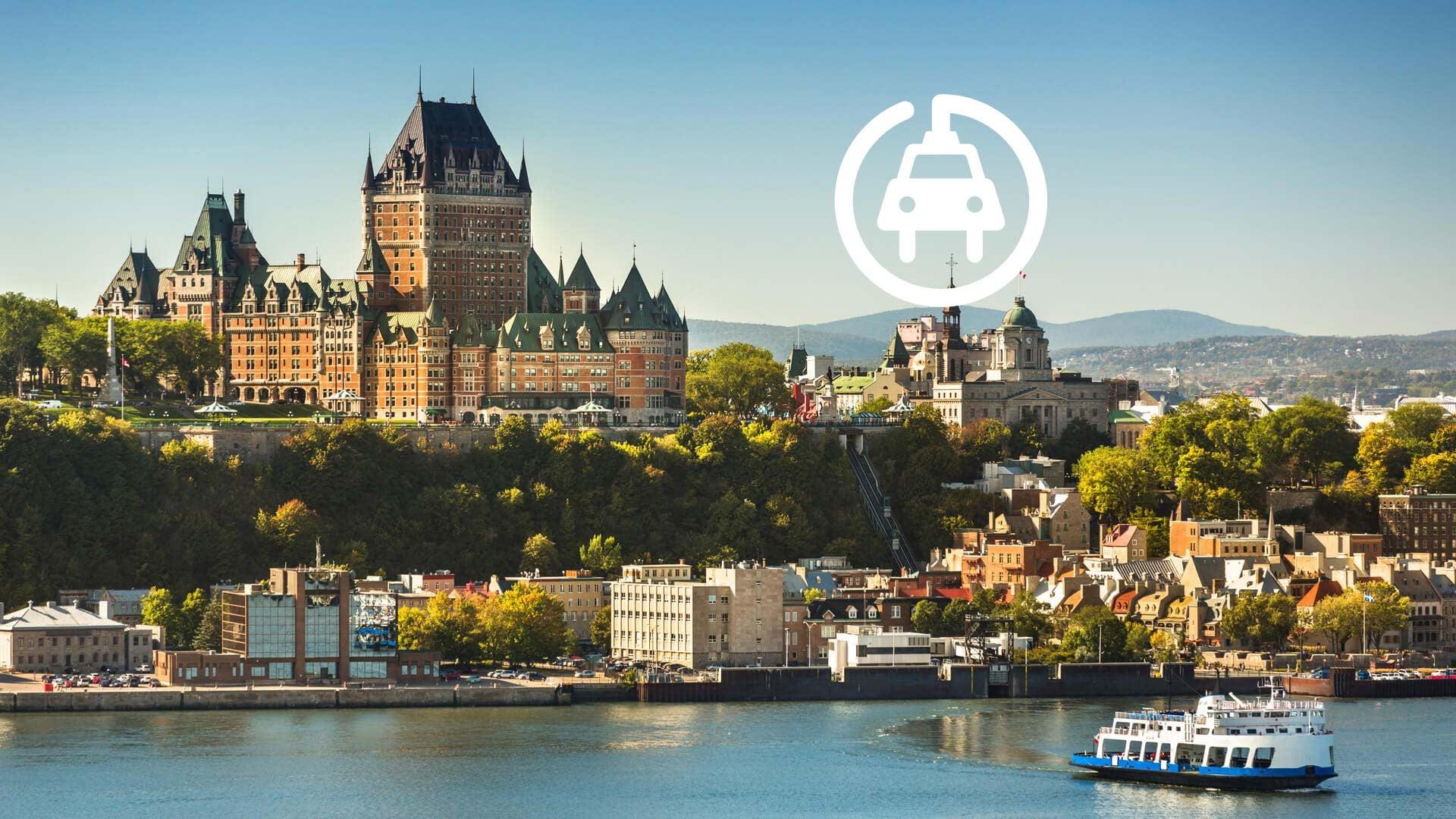 Virée à Québec en voiture électrique