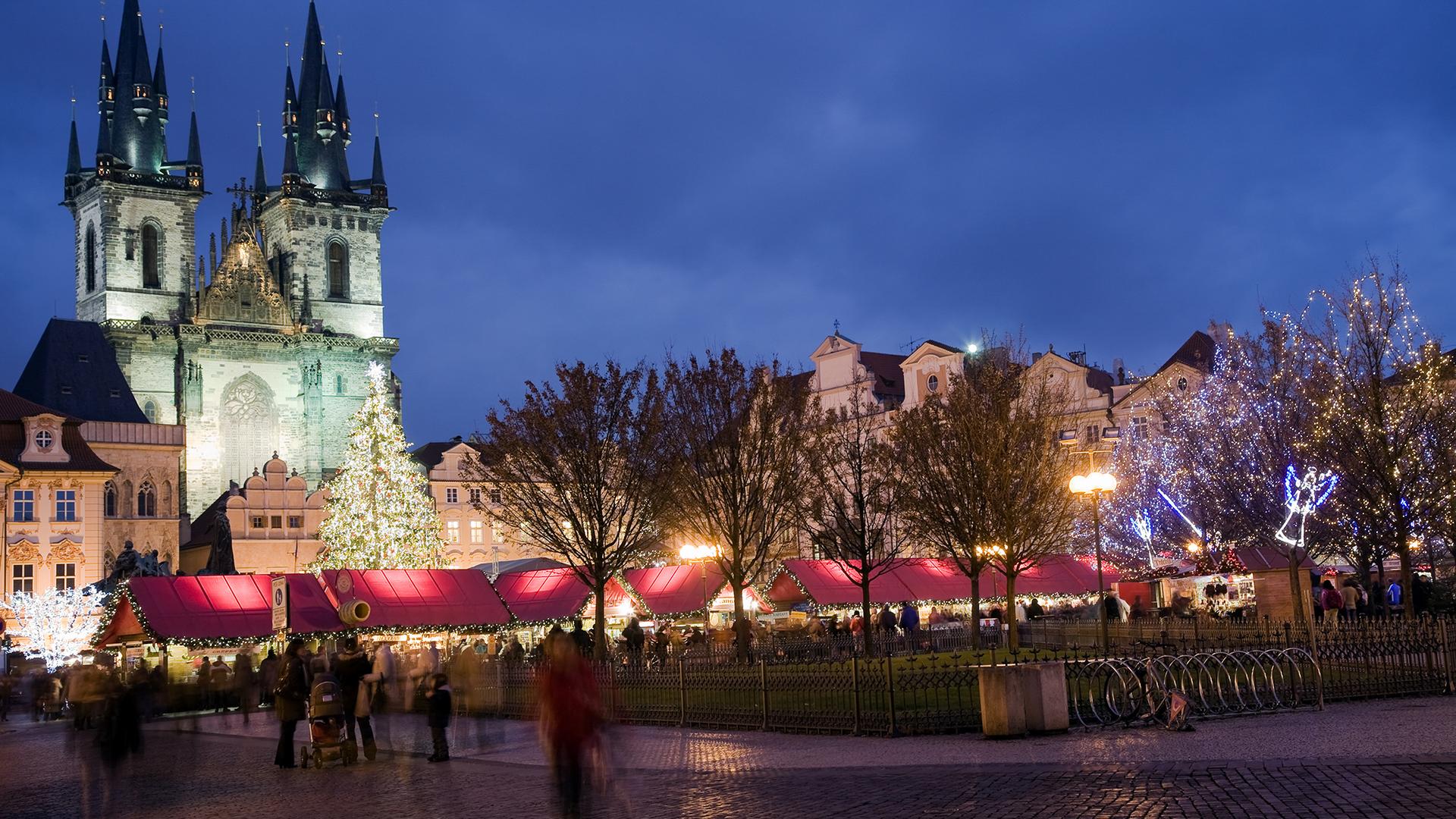Féerie de Noël à Prague