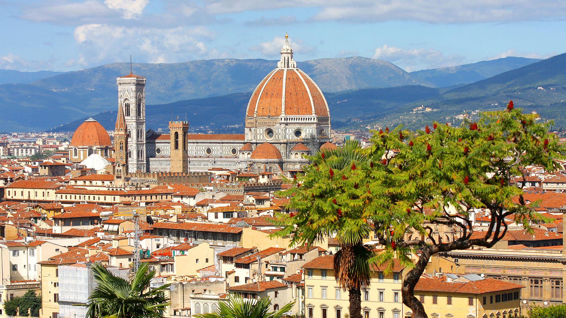 Rome, Florence et Venise en train