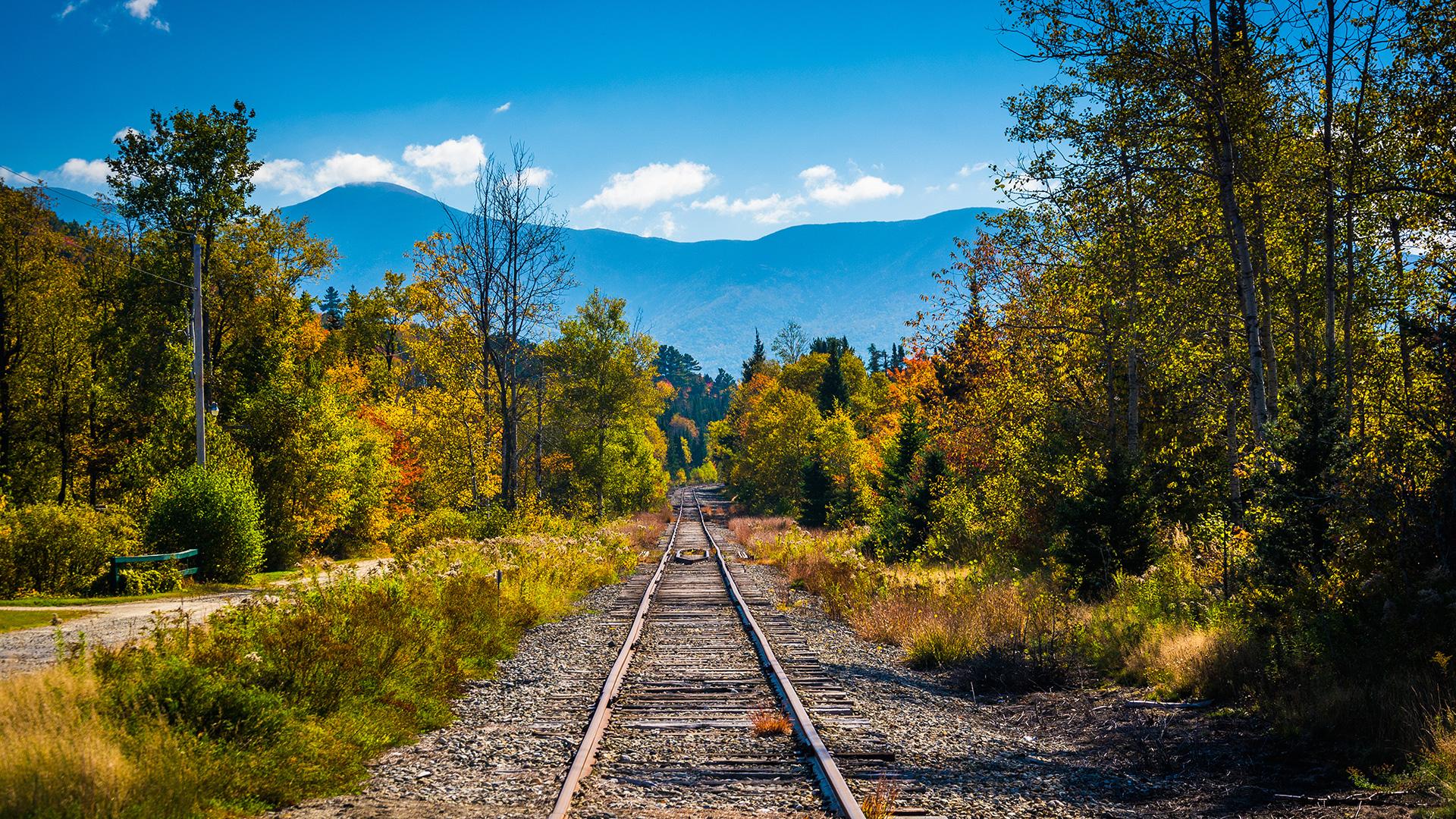 Les trains de la Nouvelle-Angleterre