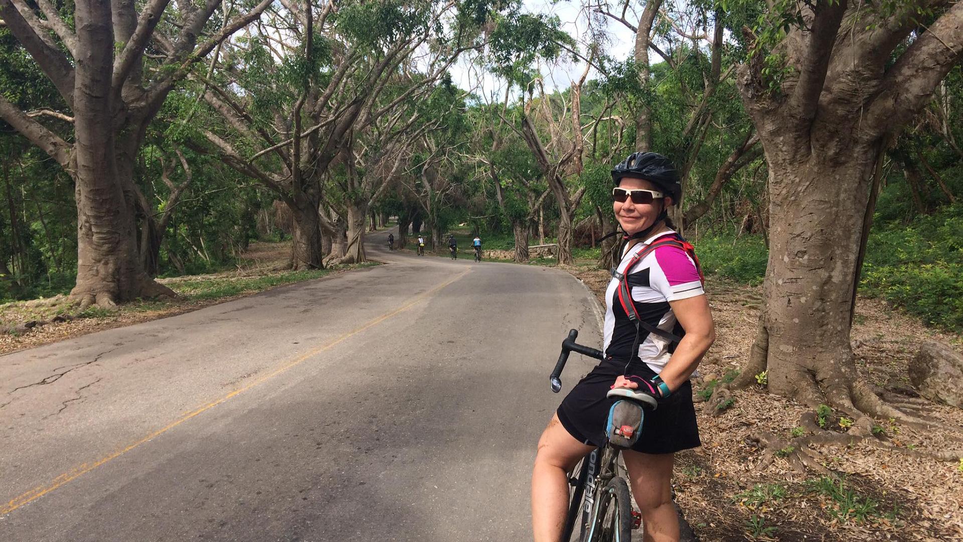 Jibacoa, Cuba à vélo
