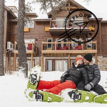 Séjour nature dans Lanaudière en hiver à l'Auberge du Lac Taureau