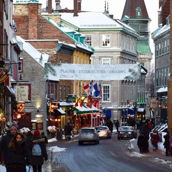 Virée à Québec à la relâche scolaire