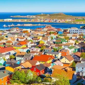 Terre-Neuve-et-Labrador et Saint-Pierre-et-Miquelon en avion