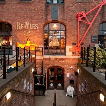 Londres, Liverpool et les Beatles